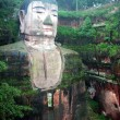 Sichuan Leshan Giant Buddha building landscape, china — Stock Photo