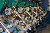 Paper mill precision machinery equipment — Stock Photo