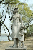 Stone statues in the park in China — ストック写真