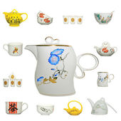 ícone de produto de cerâmica chinesa — Foto Stock