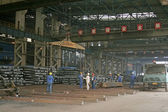 Steel company production workshop — Stock Photo