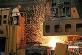 Steel company production workshop — Stock Photo