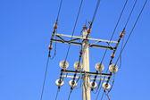 Transmission lines — Zdjęcie stockowe