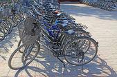 Lignes de bicyclettes — Photo