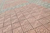 Cement floor tile — Stock Photo
