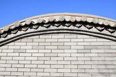 Muro di castello — Foto Stock
