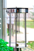 Solar water heater parts — Stock Photo