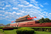 Scenery of the Forbidden City in Beijing — Stock Photo