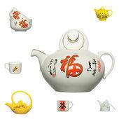 ícone de produto de cerâmica chinesa — Fotografia Stock