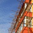 Scaffold in construction site — Stok Fotoğraf #21175313