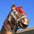 Stock Photo: Horse sculpture