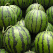 Closeup of Watermelon — Stock Photo