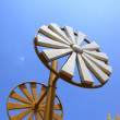 Foto Stock: Lamps of windmill modelling