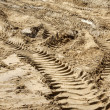 Rut in sand — Stock Photo #21236027