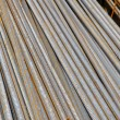 Steel rebar in construction site — Stock Photo #21236117