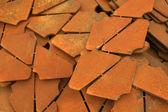 Pieces of rusty steel — Стоковое фото