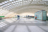 The scene of T3 airport building in beijing — Foto Stock