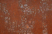 Oxidation rust metal plate — Stock Photo