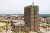 Niedokończone wielopiętrowych budynków — Zdjęcie stockowe