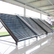 Stock Photo: Solar water heater parts