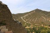 Great Wall in china — Foto de Stock