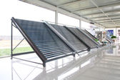 Solar water heater parts — Stock Photo