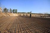 Sit de construcción de tela de refuerzo — Foto de Stock
