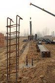 Steel bars construction materials — Stock Photo