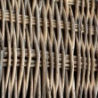 Wicker weave of the fence - Stok fotoğraf