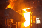 Steelmaking furnace — Photo