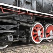 Stock Photo: Train wheels