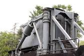 поезд механических компонентов — Стоковое фото