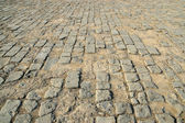 Brick-paved ground — 图库照片
