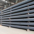 Steel materials finished goods warehouse — Stock Photo #24148279