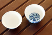 Traditional Chinese tea cup — Stock Photo