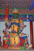 大きな四天王寺のホールの彫刻 — ストック写真