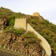 Great Wall, ancient Chinese architecture landscape — Stock Photo