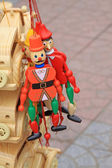 Cartoon characters toys — Stock Photo