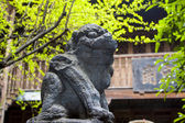 Stone carving works in Phoenix Town, china — Fotografia Stock