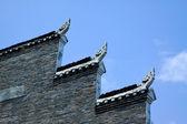 Horse head wall in Phoenix Town, china — Stock Photo