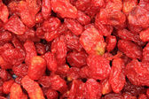 Red fruit, tempting snacks — Stock Photo