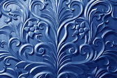 Pattern on a metal plate material — Stock Photo