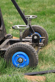Toca-discos e peças da roda — Foto Stock