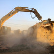 City demolition site — Stock Photo