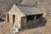 Casa di villaggio panorama — Foto Stock