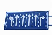 Verkehr verkehrszeichen — Stockfoto
