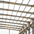 Steel structure framework — Stock Photo