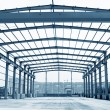 Steel structure framework — Stock Photo #26915701