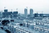 Small city architecture landscape — Stock Photo