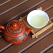 Stock Photo: chinese yixing teapots